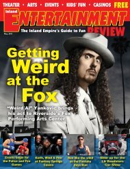 Getting at the - Inland Entertainment Review Magazine