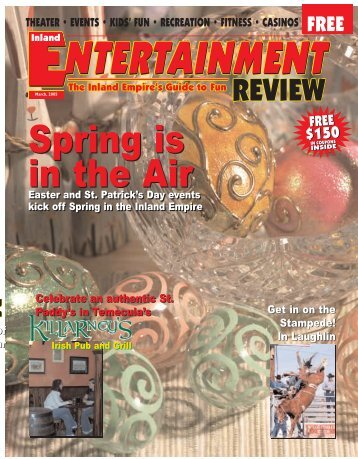 IER 3-05 - Inland Entertainment Review Magazine
