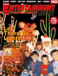 Let There Be Lights! - Inland Entertainment Review Magazine