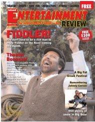Theater Bonanza! - Inland Entertainment Review Magazine