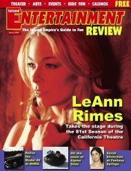 LeAnn Rimes - Inland Entertainment Review Magazine