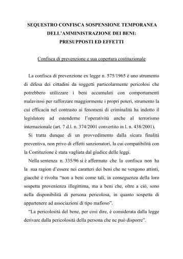 MISURE PREVENZIONE COST..pdf - Progettoinnocenti.it