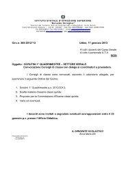 305 Scrutini SERALE 1 Quadrimestre a. s. 2012.2013 - STRINGHER