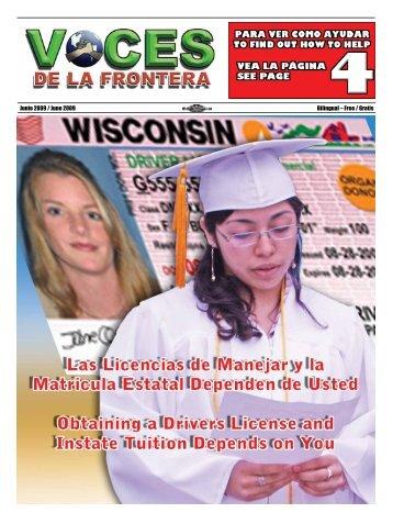 Junio 2009 / June 2009 Bilingual – Free / Gratis - Voces De La ...
