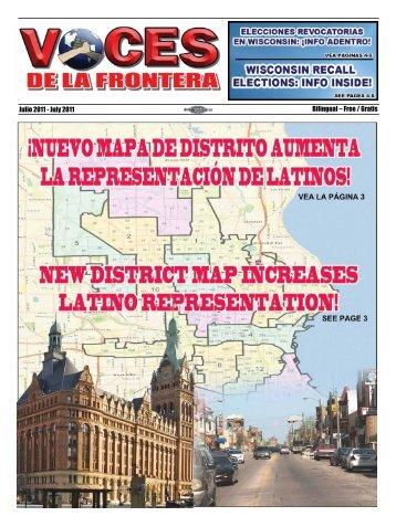 Julio 2011 - July 2011 Bilingual – Free / Gratis - Voces De La Frontera