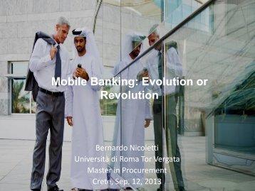 Mobile Banking - Bernardo Nicoletti