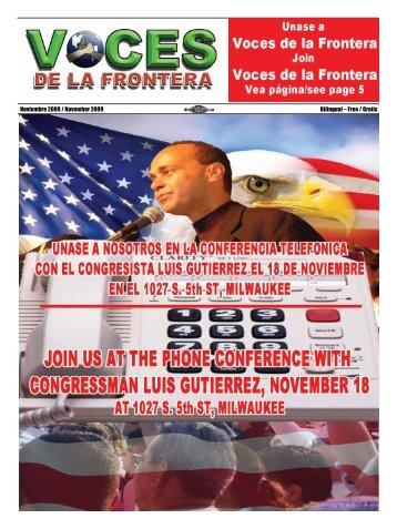 Noviembre 2009 / November 2009 Bilingual – Free / Gratis
