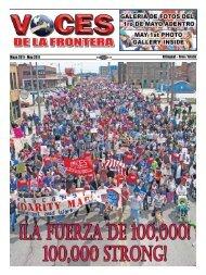 Mayo 2011 - Voces De La Frontera