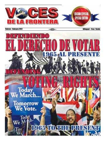 Febrero - February 2012 Bilingual – Free / Gratis - Voces De La ...