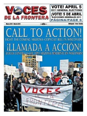 Marzo 2011 - Voces De La Frontera