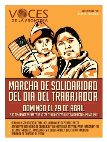 el inmigrante - Voces De La Frontera