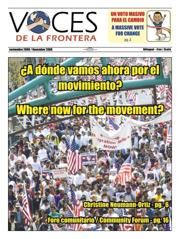 Where now for the movement? - Voces De La Frontera
