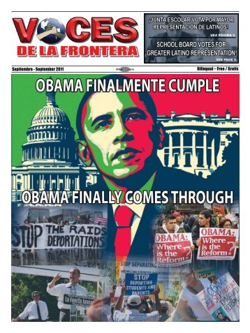 Septiembre - September 2011 Bilingual – Free / Gratis