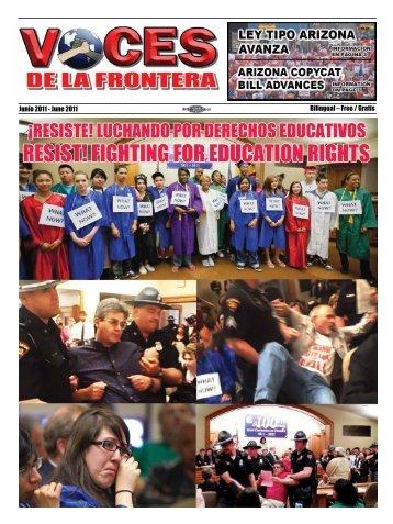 Junio 2011 - Voces De La Frontera