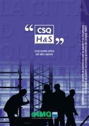 CSQ-H&S Certificazione Salute e Sicurezza nei luoghi di lavoro - Imq
