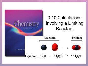 limiting reactant effect on lab View notes - limiting reagents lab from chemistry chem 2 at waunakee high purpose: the purpose of the lab was to find the limiting reagent and find the percent yield of gases materials: we used.
