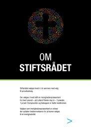 OM STIFTSRÅDET - Viborg Stift