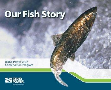 Idaho Power Our Fish Story Brochure