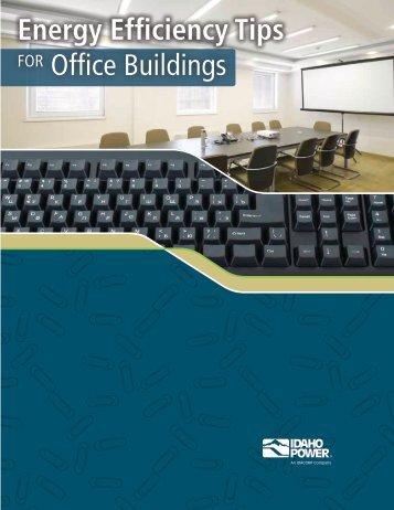 Energy Efficiency Tips For Office Buildings - Idaho Power