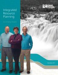 10-page summary of the 2011 IRP - Idaho Power