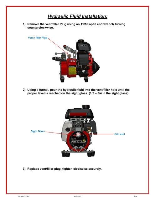 Hydraulic Fluid Installat