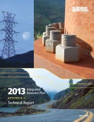 2013 Integrated Resource Plan Appendix C ... - Idaho Power