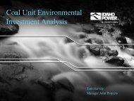 Coal Study Presentation - Idaho Power