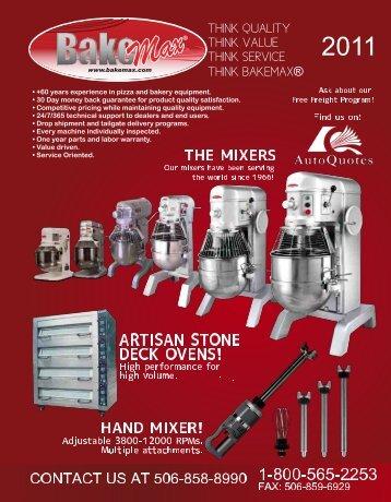 BakeMax Catalog 2011