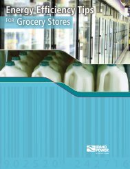 Energy Efficiency Tips for Grocery Stores - Idaho Power