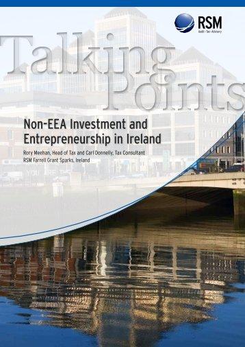 Non-EEA Investment and Entrepreneurship in ... - RSM International