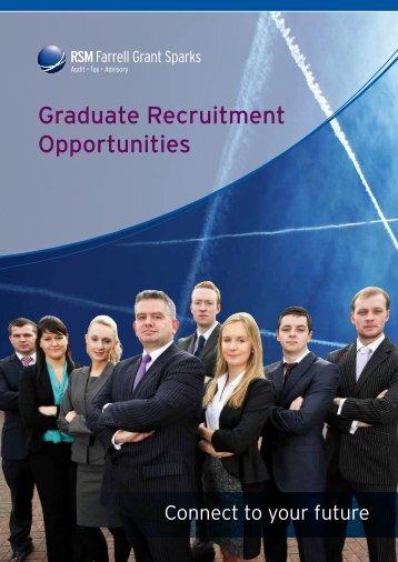 Graduate Recruitment Brochure 2013 - RSM Farrell Grant Sparks