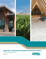 Appendix B-Demand-Side Management 2010 Annual ... - Idaho Power