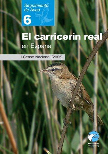 El carricerín real en España. I Censo Nacional - SEO/BirdLife