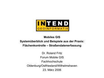 Mobiles GIS - IAPG