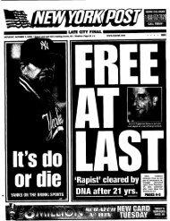 New York Post - Benfante