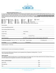Residential Building Permit - City of Delaware