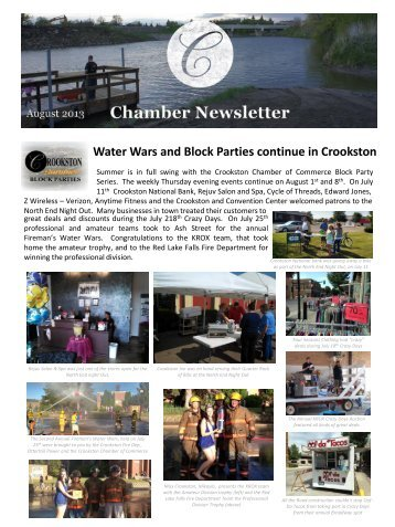 or Print Friendly version - Crookston Convention and Visitors Bureau