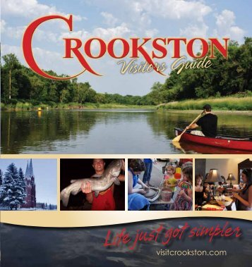 Visitors Guide - Crookston Convention and Visitors Bureau