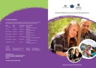 Student Mentoring and Youth Development