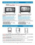 CONVECTION OVENS - Cadco, Ltd - Page 5