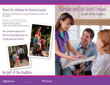 Families and Girl Scout Cookies®