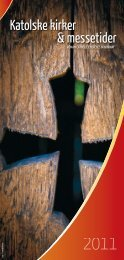 messesteder - Den katolske kirke