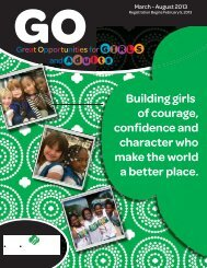 GO! Great Opportunities - Girl Scouts of the Colonial Coast