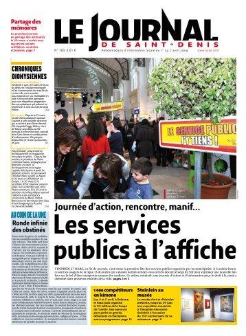 Journée d'action, rencontre, manif… Les services ... - Franciade