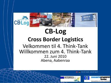 Präsentation Think Tank 22.06.2010 - CB-Log