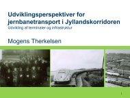 Udviklingsperspektiver for jernbanetransport i ... - CB-Log