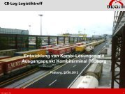 Vortrag der Firma TX-Logistik - CB-Log