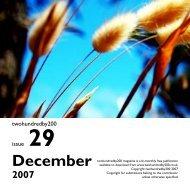December - twohundredby200