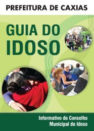 Guia do Idoso - Prefeitura de Caxias do Sul