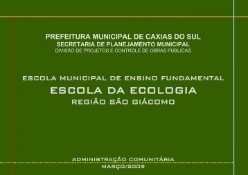 GINÁSIO MULTIUSO - Prefeitura de Caxias do Sul